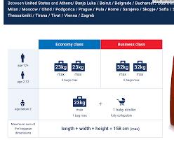 united international baggage allowance flights went up over night flyertalk forums