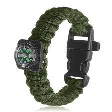 paracord survival whistle bracelet images Tactical paracord outdoor survival bracelet buckle band compass jpg