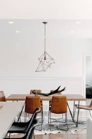 West Elm Dining Room Chairs Modern Industrial Style In A Utah 4 Bedroom Interiors