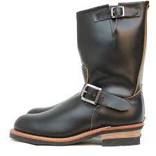 engineer motorcycle boots 2966 non steel toe engineer black klondike red wing shoe store