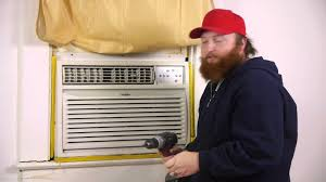 Small Window Ac Units How To Secure A Window Air Conditioner So That It Cannot Be Pushed