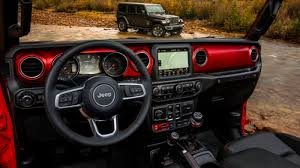 2018 jeep wrangler interior revealed with retro touches and bright