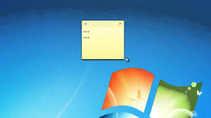 post it windows 7 bureau tuto pc la fonction post it ou pense bête windows 7