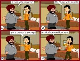 santa rocks husband wife meme india santa jokes funny husband