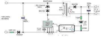 12 v mains smps circuit girijesh solution