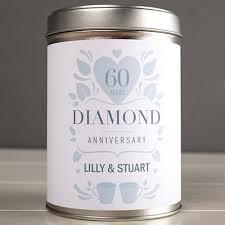 60th wedding anniversary gifts 60th diamond wedding anniversary gifts gettingpersonal co uk