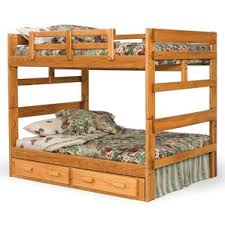full over queen bunk bed wayfair