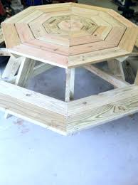 Ana White Picnic Table Ana White Octagon Picnic Table Diy Projects
