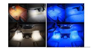 Led Auto Lights 11 18 Rgb Led Car Interior Atmosphere Glow Sticker Sound Control