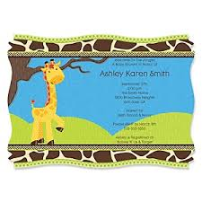 giraffe boy baby shower decorations u0026 theme babyshowerstuff com