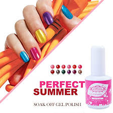 perfect summer gel nail polish uv led soak off nail lacquer