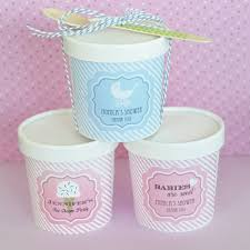 personalized baby shower favors baby shower pint containers