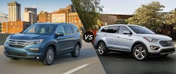 toyota venza vs hyundai santa fe honda pilot vs hyundai santa fe 2018 2019 car release and reviews