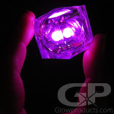light up cubes pink light up cubes led cubes glowproducts