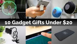 cool gadget gifts 10 gadget gifts for less than 20 geeky gadgets