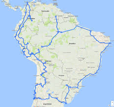 Maps Google Cmo Route Next Exit South America