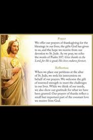 a st jude prayer reflection thank you jude for praying