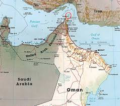 Map Of Oman Western Interventions In Oman Geographybiz
