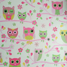 Girls Bedroom Feature Wall Owls Wallpaper Choose From 6 Designs New Wall Decor Feature Wall