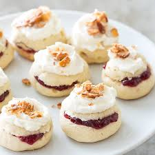raspberry filled almond torte cookies christmas gift recipes