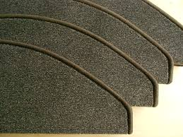 stufenmatten fuer treppe 14er set stufenmatten kurze treppen braun meliert 65x20 chip 773