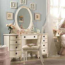 Glass Makeup Vanity Table White Vanity Table Set With Stool Jewelry Makeup Desk Bedroom