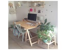 bureau avec treteau bureau avec tréteaux 20560 bureau idées