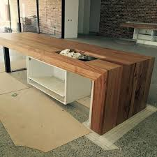 island bench kitchen custom made timber bench tops bringing warmth to your kitchen