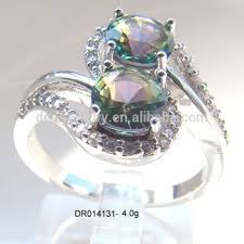 ebay rings silver images Zircon stone silver ring mystic topaz ebay ring silver fashion jpg