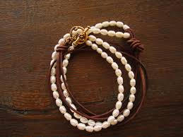 tutorial pearl necklace images Legendary beads tutorial river of pearls necklace or bracelet jpg