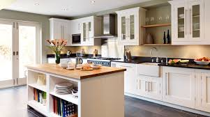 classic painted white shaker kitchen from harvey jones