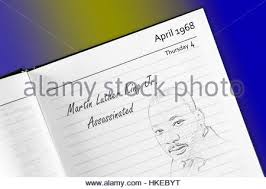 martin luther king jr sketch in notebook stock photo royalty