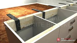 kitchen island brackets kitchen island countertop support your can float with support