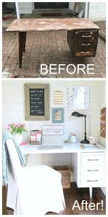 thrifty blogs on home decor my thrifty under 50 desk makeover desks thrift stores and love