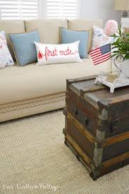 fox home decor coastal cottage with a patriotic summer twist fox hollow cottage