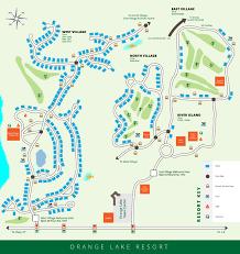 Street Map Orlando Fl by Orange Lake Resort Map Orlando Florida