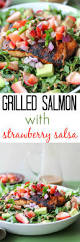 grilled salmon with strawberry salsa the roasted root