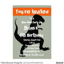 58 best cute dinosaur birthday party invitations images on