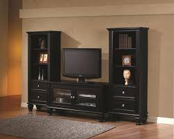 tv unit with glass doors black tv stand with glass doors