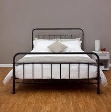 amazon com wrought iron bed frame dark bronze metal queen size
