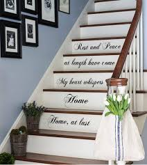 Staircase Decorating Ideas Wall Excellent Stair Wall Decor 22 Diy Staircase Wall Decorating Ideas