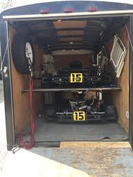 trailer garage how is your trailer setup kartpulse forums discuss karting