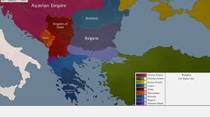 Map Of Ottoman Empire The Liberation Of The Balkan Peoples From The Ottomans Youtube