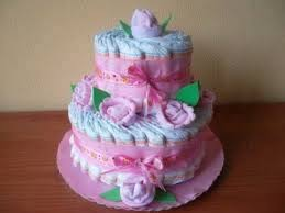 Baby Shower Pastel - pastel de pañales para baby shower fascinating looked in rolled
