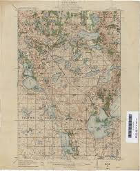 Minnesota State Map Minnesota Historical Topographic Maps Perry Castañeda Map