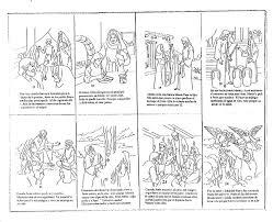 imagenes de virgen maria infantiles la virgen maria su vida en viñetas infantiles para pintar