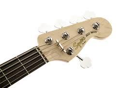 squier deluxe jazz bass v active 5 string ebonol fingerboard