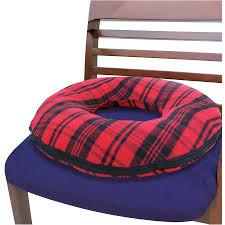 Armchair Shaped Pillow Deluxe Comfort Donut Pillow Walmart Com