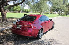 red lexus is 250 2006 my review of the 2014 lexus is350 f sport short test drive