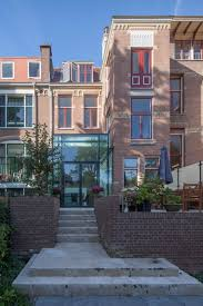 duinweg glass extension by bbvh architecten